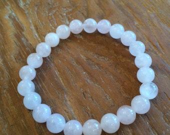 Rose Quartz Stretchy Bracelet