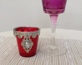 Soy Candles Princess Goblets Aromatherapy Essential Oils