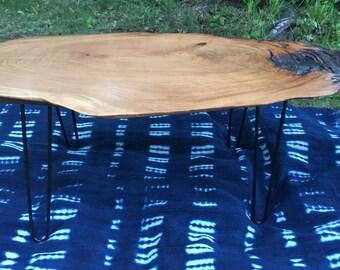 Raw Edge Cherry wood coffee table