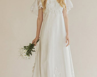 Original Vintage 70s wedding dress - Dalila