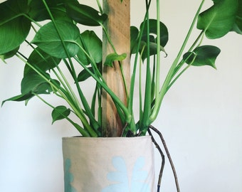 Plant cozy soft storage canvas bag