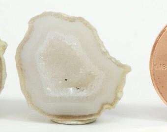 Baby Geode set #216, Jewelry, Dollhouse Miniatures, Home Decor