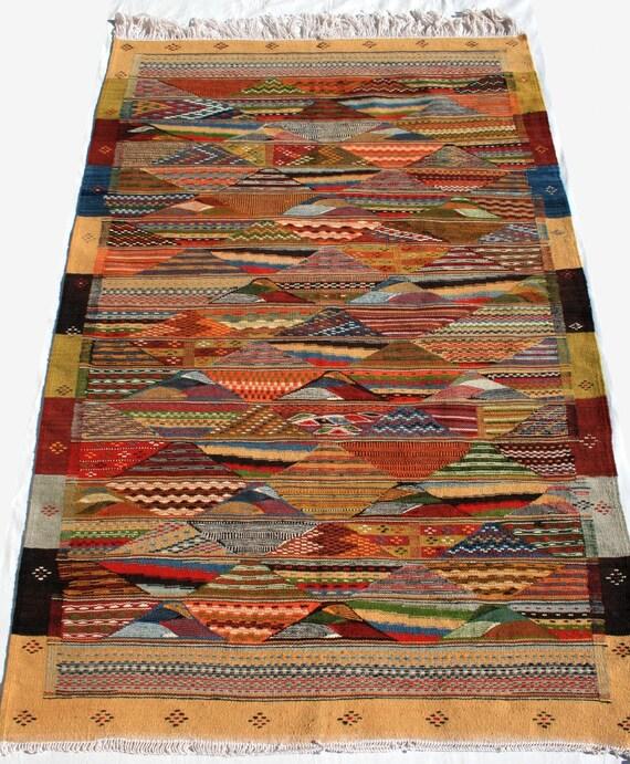 Area Rug Berber Carpet Moroccan Rug Kilim Rug Living Room