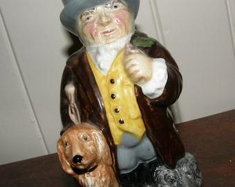 roy kirkham toby jug / england squire / hand made / series two / vintage toby jug / toby jug / character jug