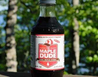 Pure 100% Wisconsin Maple Syrup by The Maple Dude