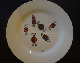 Sweets Dinner Plate