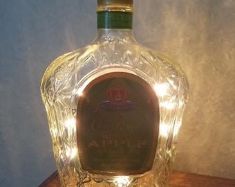 Crown Apple Lighted Bottle