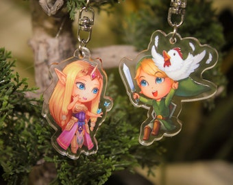Keyring - Link or Princess Zelda