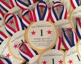 Gold Medal Invitations