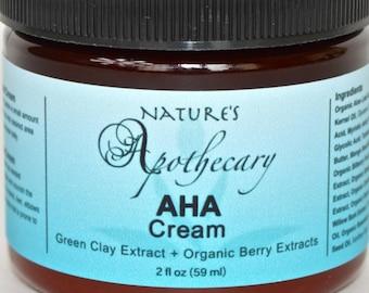 Anti-Aging Organic AHA Facial Cream