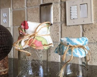 Canning Jar Gift Covers