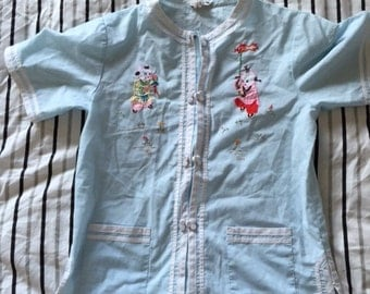 Vintage Chinese Style Embroidered Child's shirt
