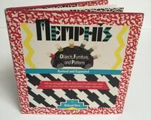 Unique Memphis Art Related Items Etsy