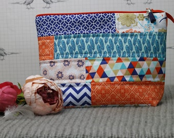 Quilted Patchwork project bag