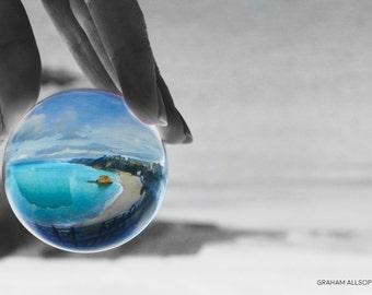 Glass Ball Photography - Coastal Shot