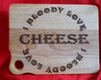 Small cheese board or serving board