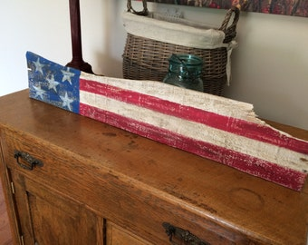 Reclaimed Wood Stars & Stripes