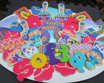 Shimmer and Shine Cookie Platter