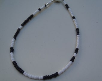 Black and White Pi Bracelet, Slim Stacking Bracelet, Layering Bracelet, Math Bracelet