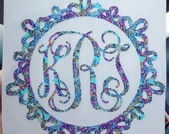 Lilly Pulitzer 6 inch decal