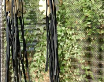 Bike Tube Fringe W/ Gears