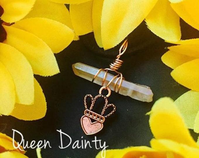 Dainty Rose Quartz Pendant