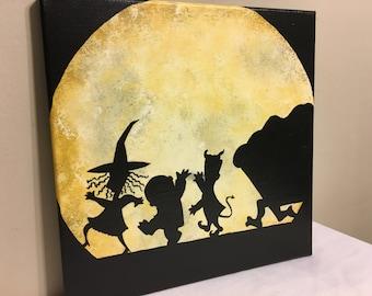 SHIPS FREE - Kidnap Mr Sandy Claws - Nightmare Before Christmas Inspired - Tim Burton, Disney - Lock, Shock, Barrel - Halloween, Present