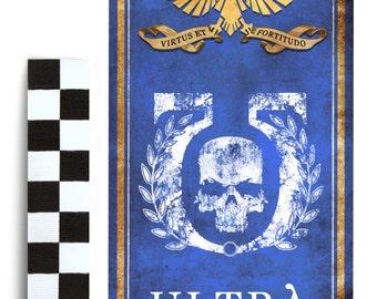 40k lifesize banner: Ultra Marines, ultramarines