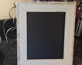 8x10 Distressed Chalkboard