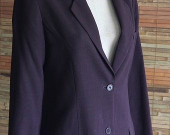 Vintage Calvin Klein  Single Button Blazer Size 8