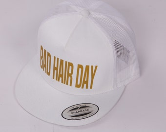 Cap BAD HAIR DAY white