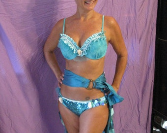 Beautiful mermaid costume