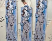 Bookmark - Laminated - Charm - Fairy - Fantasy - Lunar Queen