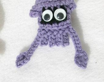 Lilac Squid Ornament