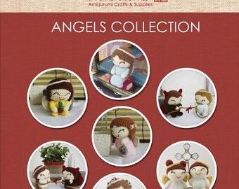 Angels Collection Amigurumi Patterns - 8 Patterns