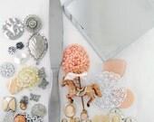 DIY Jeweled Hand Mirror Kit - Carousel Horse