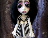RESERVED Loopy Gothic Baby Doll Lolita Victorian Art doll Jesse Stockton