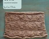 Chevron Cowl Loom Knitting Pattern