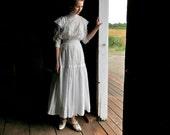 Edwardian Teen Girl's Dress Ladies XS XXS