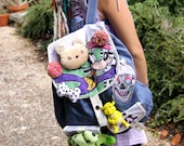 Goofy Bear Skull Custom Gobbolino Back Pack Bag Kawaii