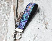 READY TO SHIP - Key Fob Wristlet - You Pick the Fabric - Borsa Bella - Murano Glass Fabric