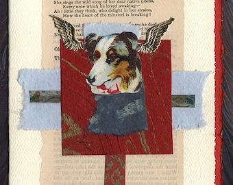 Pet Sympathy Card Dog Broken Heart