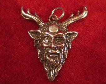 Cernunnos Celtic Horned God Herne the Hunter Pendant Amulet