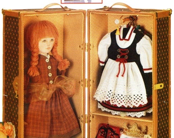 Vogue 613 LINDA CARR Doll Trunk and Boxes ©1998 also issued as Vogue 9688 Vogue Craft