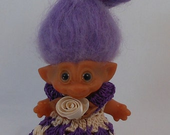 Purple - 3 Inch TROLL OUTFIT