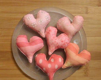 Valentines Day Heart Bowl Filler Ornaments