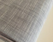 SALE Fabric, Manchester in Shadow, Yarn Dyed, Gray fabric, Woven fabric, Apparel fabric, Scarf fabric, Quilt fabric, Choose your cut