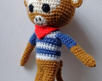 Amigurumi Crochet Monkey Pattern - Johnny the Monkey ...