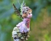 Tiny fairy, handmade decoration Zapfenkind