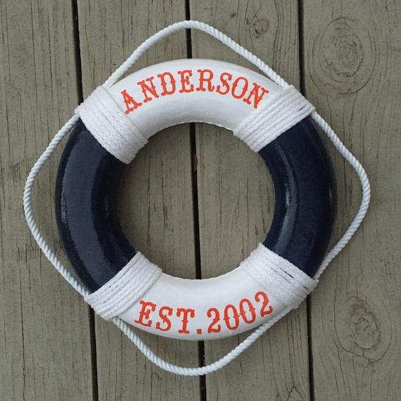 Life preserver decor life preserver ring Coast Guard